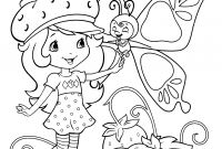 Strawberry Shortcake Coloring Pages - Rainbow Brite Coloring Pages to Print