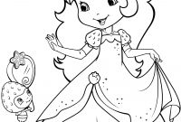 Strawberry Shortcake Coloring Pages - Strawberry Shortcake and Berrykins Coloring Page at Strawberry