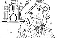 Strawberry Shortcake Coloring Pages - Strawberry Shortcake Coloring Page Coloring Pages for Children