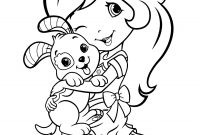 Strawberry Shortcake Coloring Pages - Strawberry Shortcake Doll Coloring Pages Strawberry Shortcake