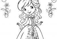 Strawberry Shortcake Coloring Pages - Strawberry Shortcake Halloween Coloring Pages Strawberry Shortcake