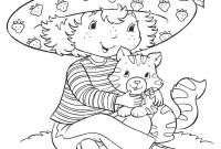 Strawberry Shortcake Coloring Pages - the Lemon Meringue at Strawberry Shortcake Coloring Pages Free