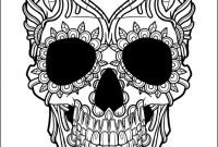 Sugar Skull Coloring Pages Pdf Free Download - 46 Best Adult Coloring Pages Images On Pinterest