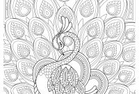 Sugar Skull Coloring Pages Pdf Free Download - Peacock Feather Coloring Pages Colouring Adult Detailed Advanced