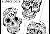 Sugar Skull Coloring Pages Printable Free - Free Coloring Pages for Adults Coloring Pages