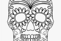 Sugar Skull Coloring Pages Printable Free - Sugar Skull Coloring Download 47 Fresh Sugar Skull Coloring Book