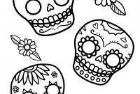 Sugar Skull Coloring Pages Printable Free - Sugar Skulls Coloring Pages Free Elegant Content 2013 10 Sugar Skull
