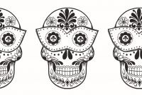 Sugar Skull Coloring Pages Printable Free - Sugar Skulls Coloring Pages Free Unique Skull Coloring Pages for