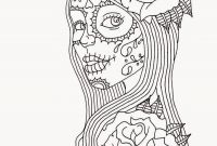 Sugar Skull Girl Coloring Pages - Pin by Julia On Colorings Pinterest
