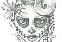 Sugar Skull Girl Coloring Pages - Pin by Montzalee Wittmann On Coloring Pages for Adults