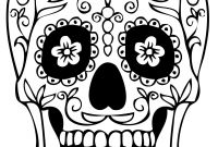 Sugar Skulls Coloring Pages Free - Sugar Skulls Coloring Pages Free New Skull Coloring Pages for