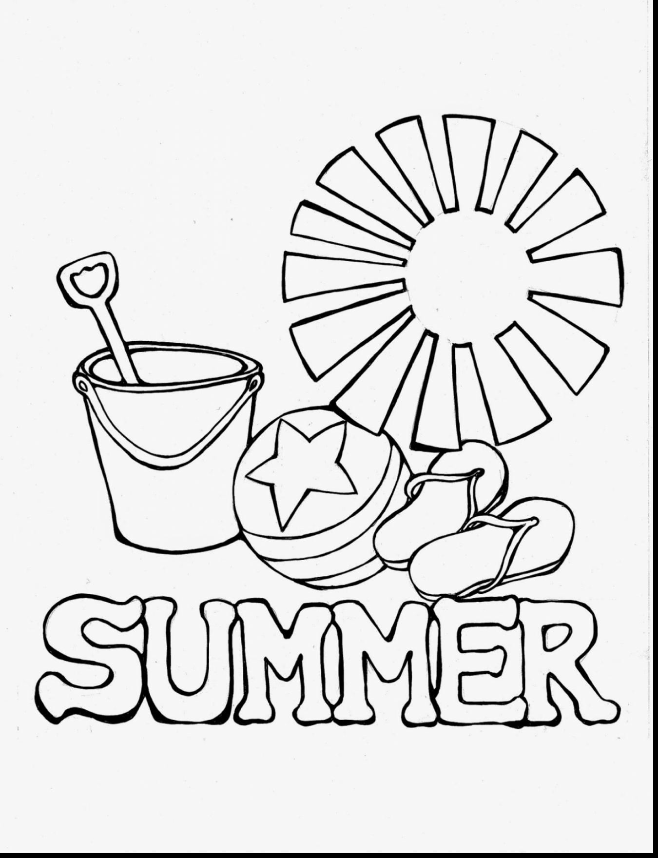 Summer Reading Coloring Pages  to Print 11n - Free For kids