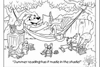 Summer Reading Coloring Pages - Summer Reading Coloring Pages to Print