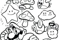 Super Smash Bros Coloring Pages - Baby Super Mario Coloring Sheets to Print Out Page – Seaah