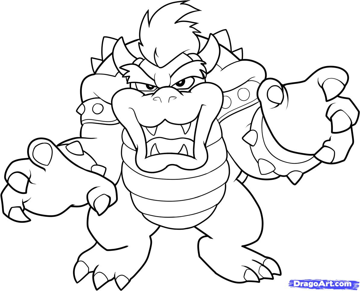 Super Smash Bros Coloring Pages To Print