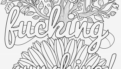 Sweary Coloring Pages - Pretty Coloring Pages Easy and Fun Sweary Coloring Book Unique Word