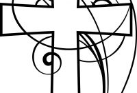 Swirly Coloring Pages - Cross Clipart Google Search Bible Teaching Resources