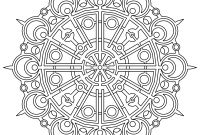Swirly Coloring Pages - Mandala Coloring Pages Advanced Level Bing