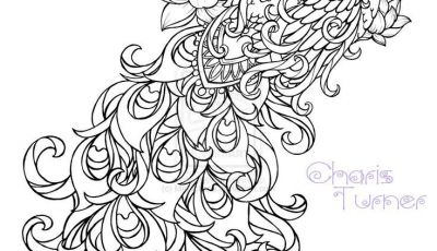 Swirly Coloring Pages - Realistic Peacock Coloring Pages Free Coloring Page Printable