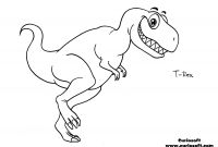 T Rex Coloring Pages - 35 New Free Dinosaur Coloring Pages