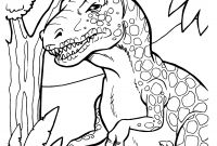 T Rex Coloring Pages - Free Printable Dinosaur Coloring Pages Free Collection