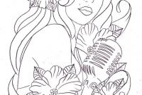 Tattoo Coloring Book Pages - Pin by Foster Ginger On Coloring Book Pianos Musical Instruments