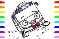 Tayo the Little Bus Coloring Pages - How to Draw Tayo & Rani & Robocar Poli Roi Coloring Pages for Kids