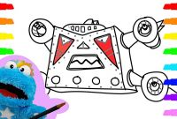 Tayo the Little Bus Coloring Pages - How to Draw Tayo the Little Bus Space Adventure Villain Coloring for