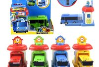 Tayo the Little Bus Coloring Pages - Kidami the Little Bus Model Tayo Kids Miniature toys Plastic Korean
