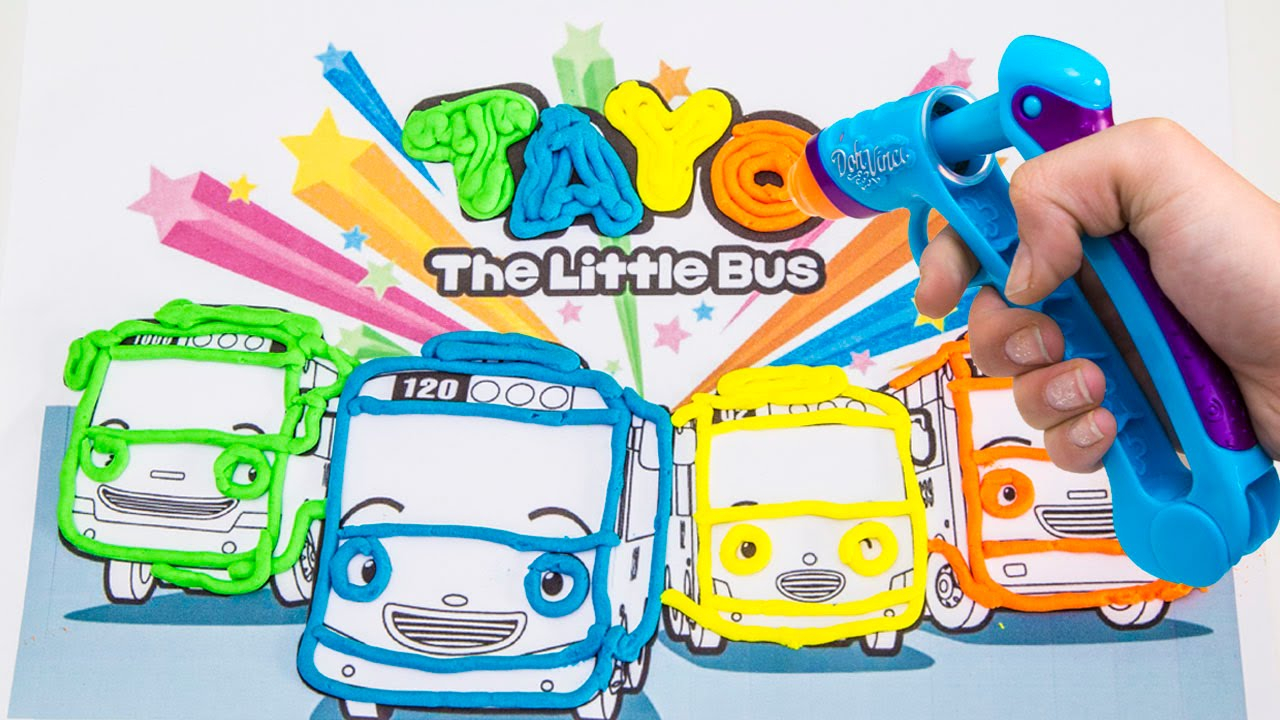 Tayo the Little Bus Coloring Pages  Download 10p - Free For Children