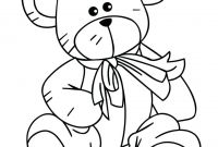 Teddy Bear Coloring Pages - Printables Teddy Bear Coloring Pages Free Luxury Az Remarkable