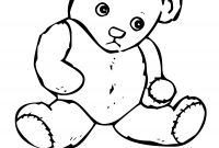 Teddy Bear Coloring Pages to Print - Yogi Bear Coloring Pages Printable