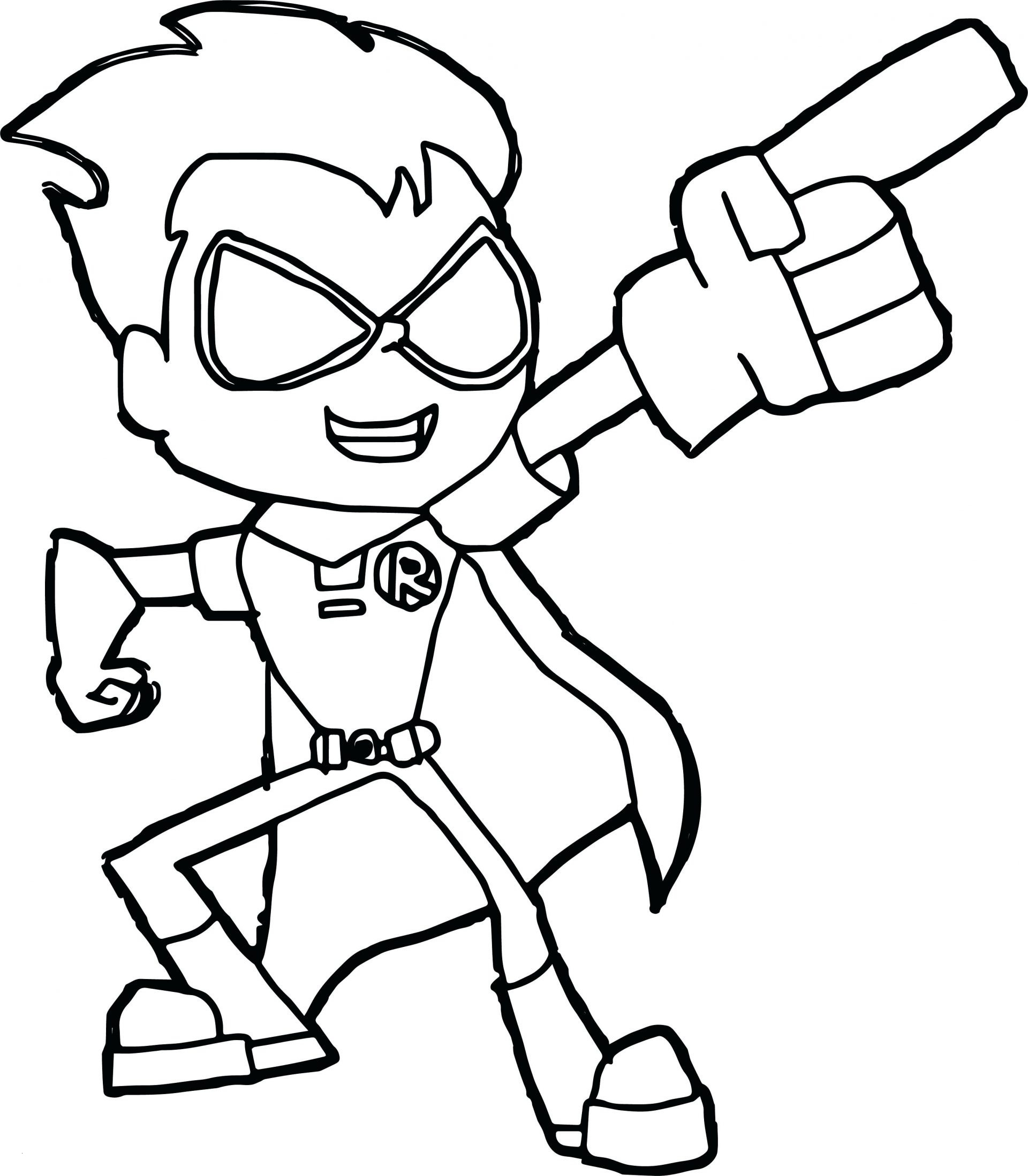 Teen Titans Coloring Pages  Gallery 2s - To print for your project