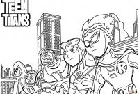 Teen Titans Coloring Pages - Teen Titans Color