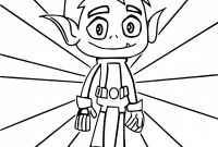 Teen Titans Coloring Pages - Teen Titans Go Coloring Pages Beast Boy Free Free 2018