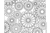 Tessellation Coloring Pages Free Printable - Design Patterns Coloring Pages Free Coloring Pages