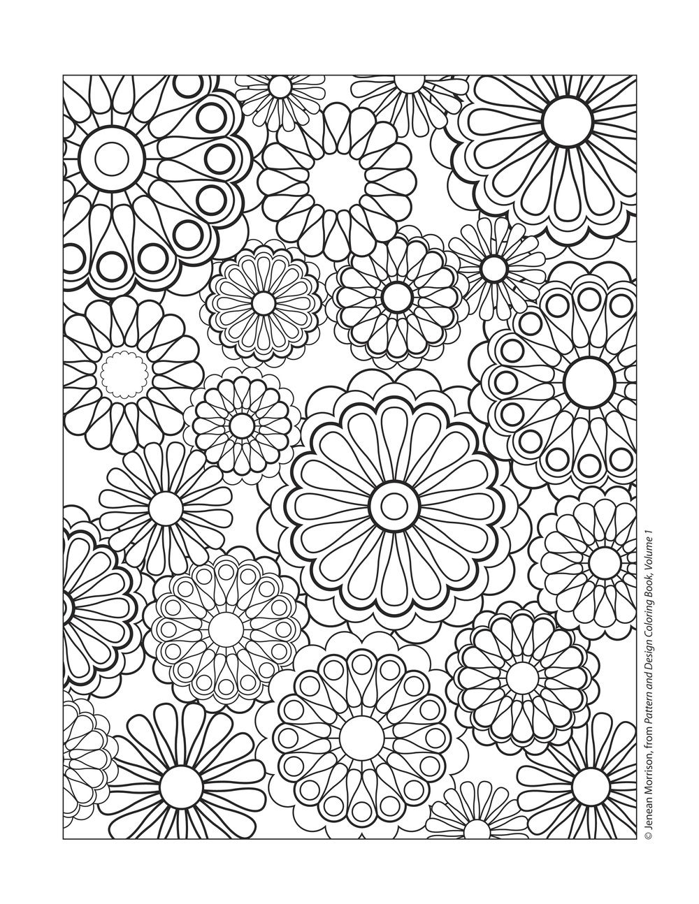 Tessellation Coloring Pages Free Printable  to Print 20q - To print for your project