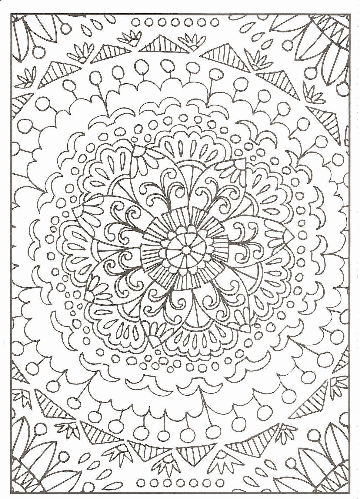 Tessellation Coloring Pages Free Printable  to Print 4g - Free For kids