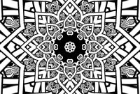 Tessellation Coloring Pages Free Printable - Mandala Pinterest Free Printable Coloring Sheets at Fractal Pages