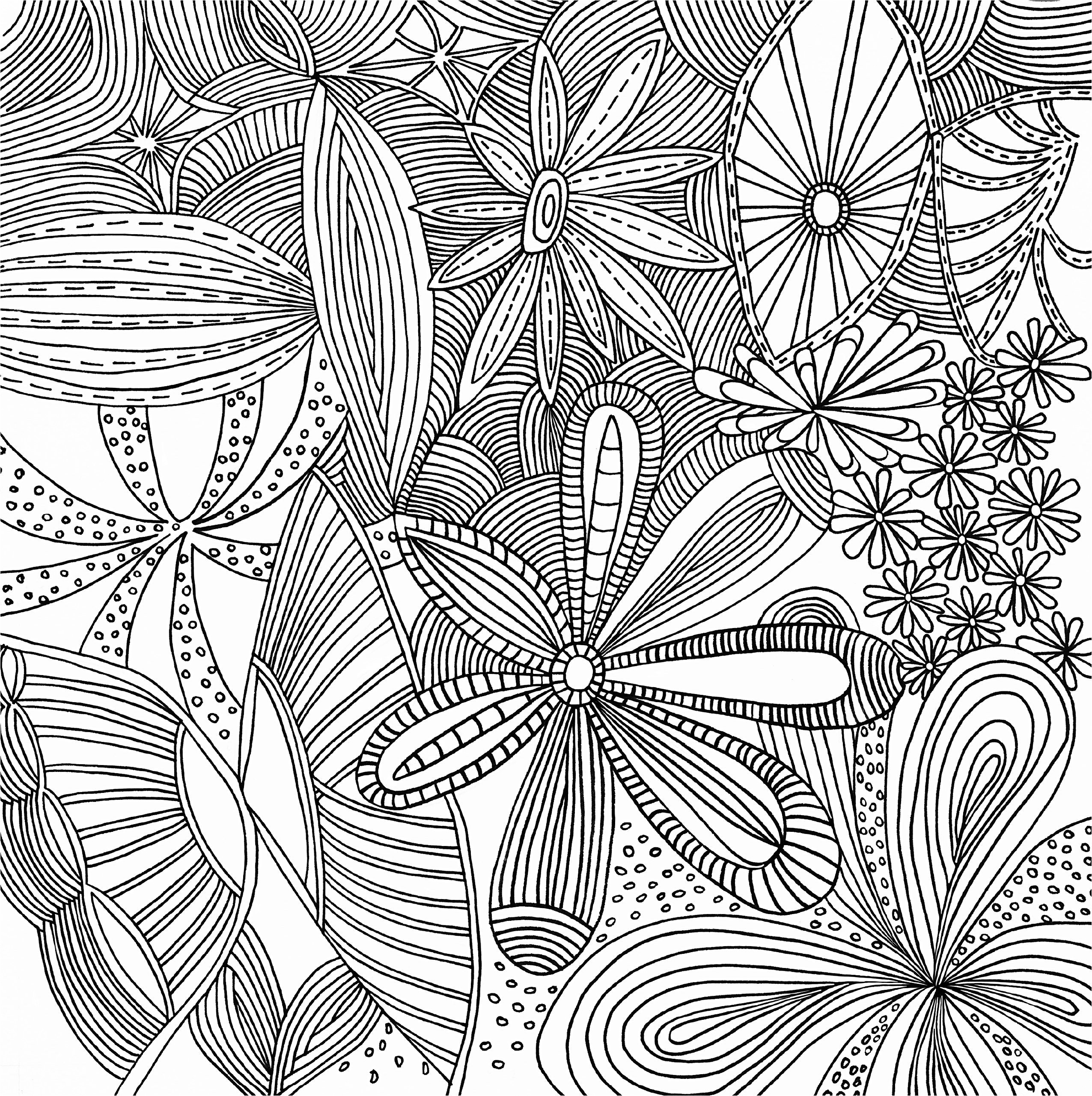 Tessellation Coloring Pages Free Printable  to Print 15g - To print for your project