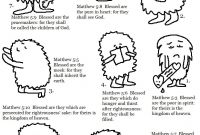 The Beatitudes Coloring Pages - Beatitudes Coloring Pages Cool Coloring Pages