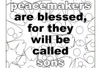 The Beatitudes Coloring Pages - Beatitudes Printable Coloring Pages Coloring Pages Coloring Pages