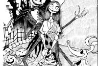 The Nightmare before Christmas Coloring Pages - Thomas Coloring Page