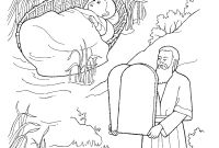 The Ten Commandments Coloring Pages Printable - Moses 10 Mandments Coloring Page Coloring Pages Coloring Pages