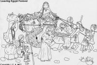 Thru the Bible Coloring Pages - Church Coloring Pages Unique the Bible israelites Leaving Egypt