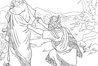 Thru the Bible Coloring Pages - Samuel Rechaza A Saºl Coloring Pages Religion