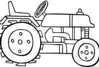 Tractor Coloring Pages to Print - Tractor Color Page Democraciaejustica