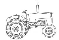 Tractor Coloring Pages to Print - Tractor Coloring Pages Best Coloring Page 2018