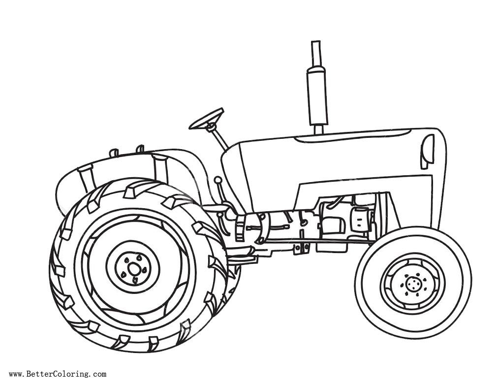 Tractor Coloring Pages to Print  Printable 12n - Free For Children