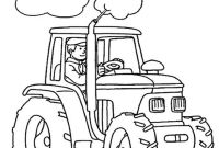 Tractor Coloring Pages to Print - Tractor Printable Coloring Pages Free Printable Tractor Coloring
